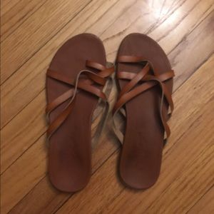 fbb704c471d7 Shoes - Brown leather sandals